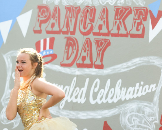 Pancake Day features local musical performances and a queen contest