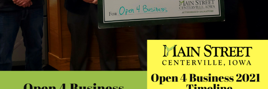 Open 4 Business Grant- Local Winner 2021